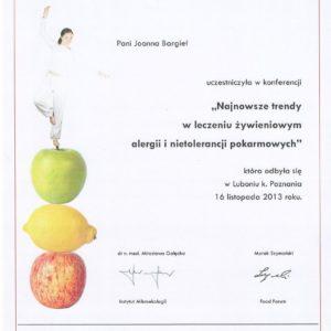 Szkolenie Food Forum o alergiach