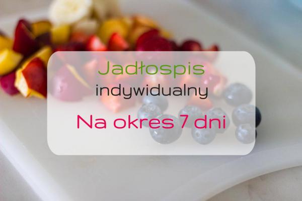 Zdrowa dieta, jadłospis